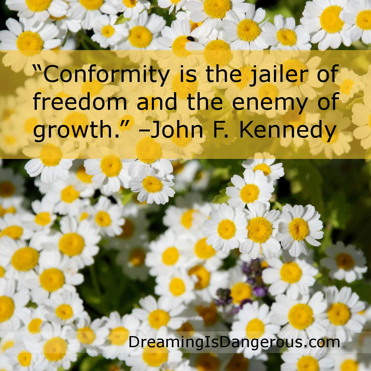 Dangerous Conformity